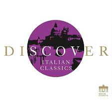 DISCOVER ITALIAN CLASSICS  CD NEU PAGANINI/VERDI/ROSSINI&VIVALDI/+
