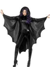 Fledermaus-Vampir Umhang  NEU - Damen Karneval Fasching Verkleidung Kostüm