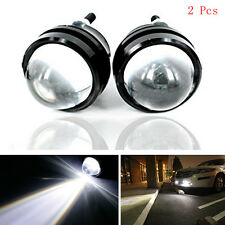 2pcs Xenon White 5W CREE High Power Bull Eye LED DRL Projector Daytime Fog Light