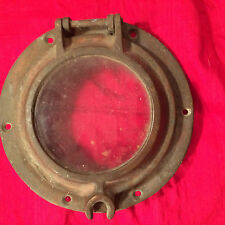Vintage Bronze Porthole from a Hudson River tugboat