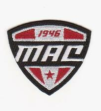 MAC FOOTBALL JERSEY PATCH FOR NORTHERN ILLINOIS HUSKIES TEAM LOGO JERSEY PATCH