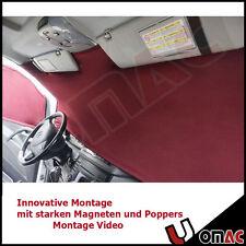 INNEN GARDINE SONNENSCHUTZ CAMPING VORHANG Rot für VW T5 2003 - 2015 VAN