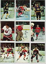1977-78 OPC/O-PEE CHEE HOCKEY GLOSSY SQUARE CORNERS COMPLETE SET OF 22