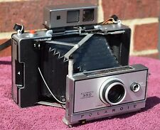 Polaroid 350 Camera w/ 450 Manual, New AAA Battery Converter, Film TESTED, Clean