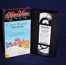 Care Bears Save The Day VHS Kideo Video 1985 Karl Lorimar Video Tape