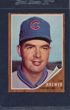 1962 Topps #191 Jim Brewer Cubs EX 62T191-50616-2