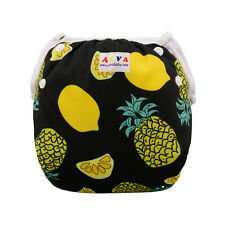 AlvaBaby Swim Diaper waterproof&breathable printed with snaps Pool Pant 10-40lbs