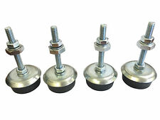 Set of 4 x Levelling Foot / Machine Foot / Furniture Feet M10 x 81mm