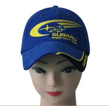 SUBARU Baseball Cap Hat Sport Motorsport Racing Rally Cotton