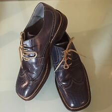 Mexx Vero Cuoio Mens Shoes Size 10 Euro 43 Made In Italy