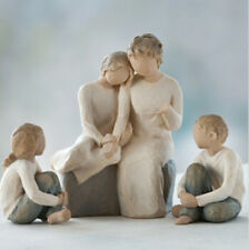 Willow Tree Grandmother with 2 Granddaughters & Grandson Figurines   22838