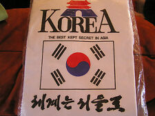 NEW Korea The Best Kept Secret in Asia Greenband White T Tee Shirt Mens XXXL 3XL