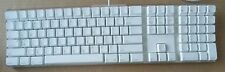 NEW Apple Keyboard White Clear 109 Keys Wired USB A1048
