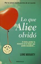 Lo Que Alice Olvido (What Alice Forgot) by Moriartyliane (2015, Paperback)
