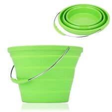 KingCamp Silicone Foldable Bucket Collapsible Camping Hiking Bucket 7.60 Quart