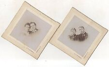 Lot of 2! Portraits from KEENE NH, Original New Hampshire Antique Photograph