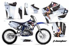 Yamaha Graphic Kit AMR Racing Bike Decal YZ 125/250 Decals MX Parts 96-01 TBOM W