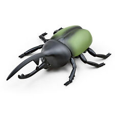 Novelty Infrared Remote Control Beetle Insect Simulation RC Toy Kids Gift Green