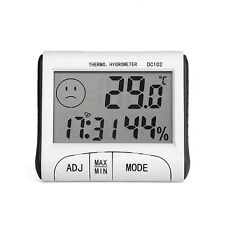 Mini Digital Thermometer Humidity Meter Room Temperature Indoor LCD Hygrometer