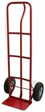 600 lb. HeavyDuty P-Handle Moving Push Utility Hand Truck Dolly Rolling Cart