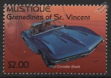 1960 Chevrolet CORVETTE SHARK Car Stamp
