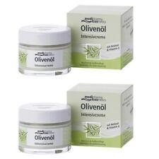 OLIVENOEL Intensivcreme 2 x 50ml Aufbaupflege für trockene Haut PZN 00788815