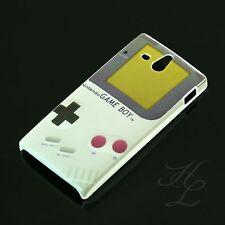Sony Xperia U/st25i, funda rígida, funda protectora, funda, protección motivo estuche Nintendo Gameboy cover