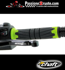 Manopole Lightech Chaft Space verde Kawasaki Z750 Z800 Z1000 sx Er-6n Er-6f