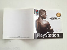 Notice/manuel/mode d'emploi Marcel Desailly Pro Football Playstation 1 PAL FR