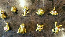 Ltd Edt Moshi Gold Monster Collection x 6 + 3 rare Shelley, Jiggles, Mr Meowford