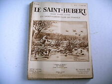 lot 11 revues chasse nature LE SAINT HUBERT 1933 - lot 3