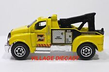 """2009 Matchbox """"Action"""" Tow Truck YELLOW/Z TOWING ROADSIDE SERVICE/MINT"""