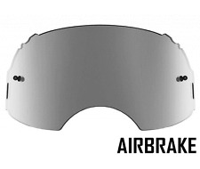 GOGGLE-SHOP SILVER MIRROR LENS to fit OAKLEY AIRBRAKE MOTOCROSS GOGGLES