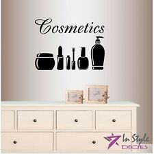 Vinyl Decal Cosmetics Beauty Supplies Makeup Artist Beauty Salon Shop 184