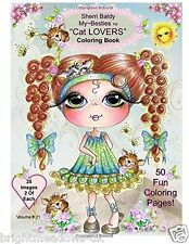 Sherry Baldy My Besties Cat Lovers Adult Colouring Book Kittens Pussy Cute Gift