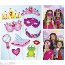 PRINCESS FAIRYTALE PHOTO BOOTH PROPS PARTY DECORATIONS CROWN TIARA MASKS & MORE