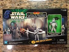 Star Wars Power of the Force POTF 3-D Diorama Cantina at Mos Eisley Sandtrooper