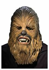 STAR WARS - GUERRE STELLARI CHEWBACCA EP3 FULL LATEX MASK - ORIGINALE RUBIE'S