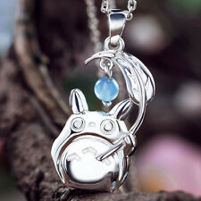 Ghibli My Neighbor Totoro  Pendant Necklace 925 Sterling Silver