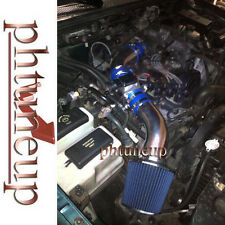BLUE 1998-2001 FORD RANGER XL XLT 2.5 2.5L AIR INTAKE KIT SYSTEMS + FILTER