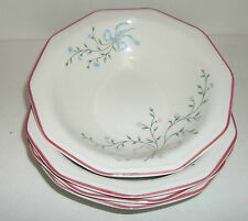 Churchill Cereal Bowls Mill Fleurs Chartwell Collection EUC Made In England