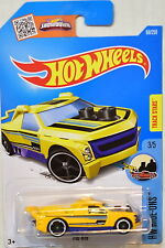 HOT WHEELS 2017 HW RIDE-ONS #3/5 FIG RIG YELLOW