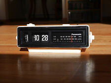 Panasonic Flip Clock Alarm Ground Hog Day Vintage Radio Eames Danis