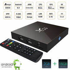 X96 4K Android 6.0 Amlogic S905X Quad Core Smart TV Box 2G/16G KODI XBMC WiFi