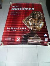 AFFICHE CINEMA ROULEE - 23ème NUIT DES MOLIERES - PREVENTIVE - 120x160