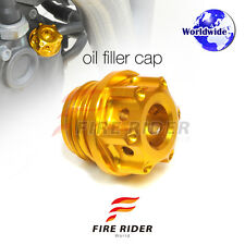 Gold CNC Oil Filler Cap 1pc For Kawasaki ZRX 1200 DAEG/SP 15-16