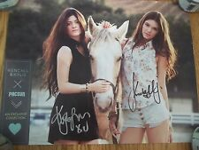 DUAL SIGNED PacSun 17X13 Poster Kendall + Kylie Jenner Autograph Kardashian