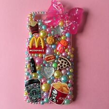 Fast Food Decoden Phone Case iPhone 4/4s/5/5s/6/6s Samsung S3/4/5/6/7 Cute Girly
