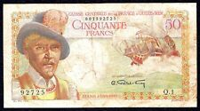 French Equatorial Africa 50 Francs ND P-23 1947