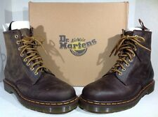 Dr. Martens Mens Size 9 Aztec Crazy Horse Brown Ankle Work Boots ZJ-98